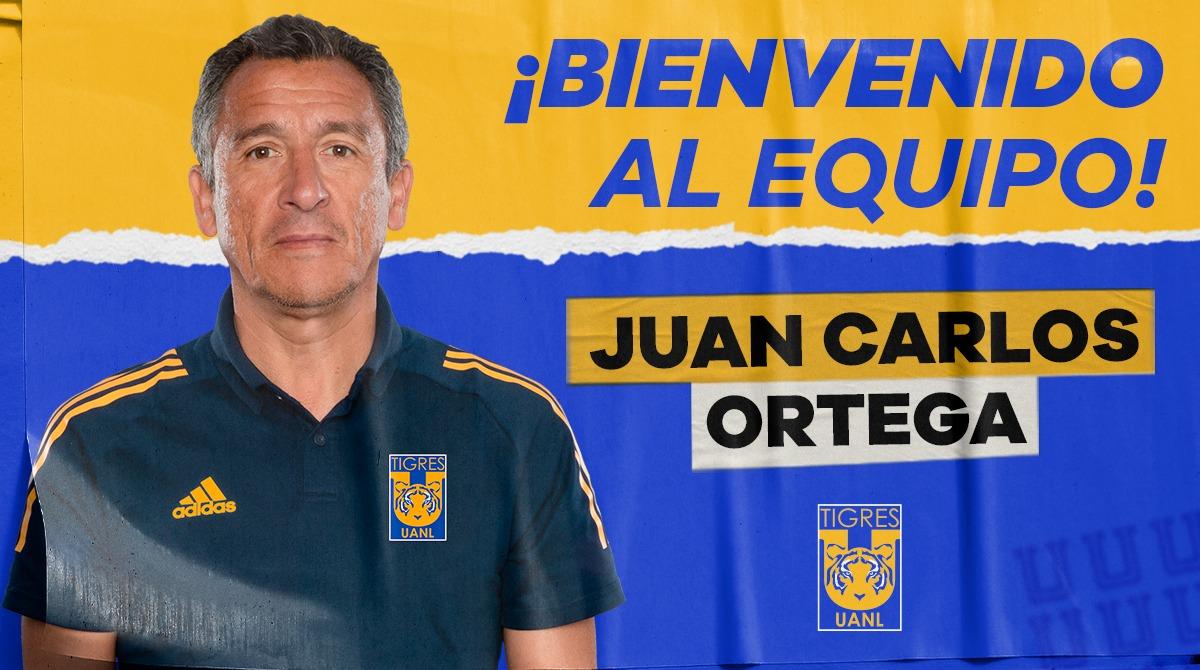 Se incorpora Juan Carlos Ortega como Director de Fuerzas Básicas de Tigres