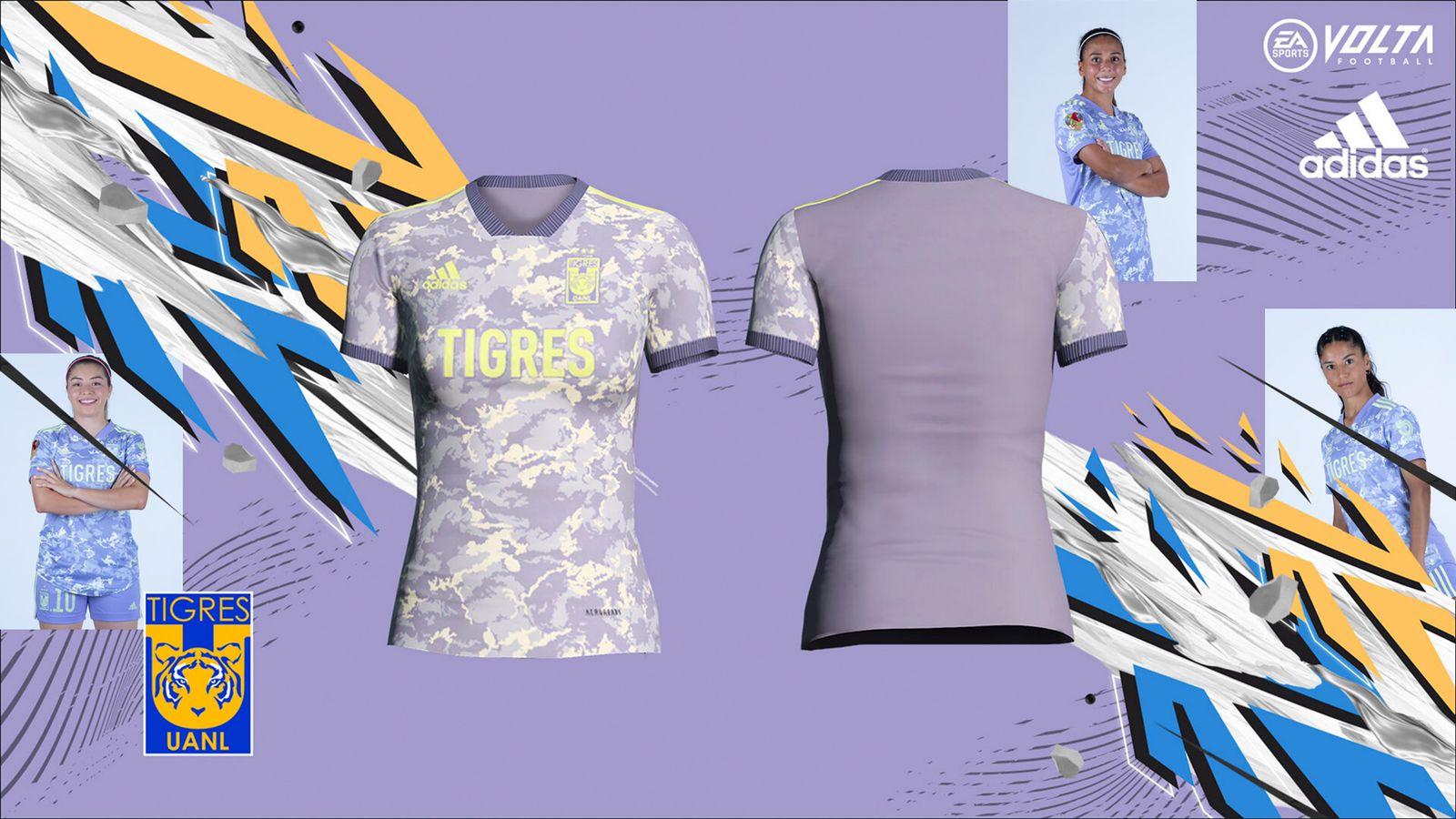 El jersey de Tigres Femenil estará en Volta Football de FIFA 21