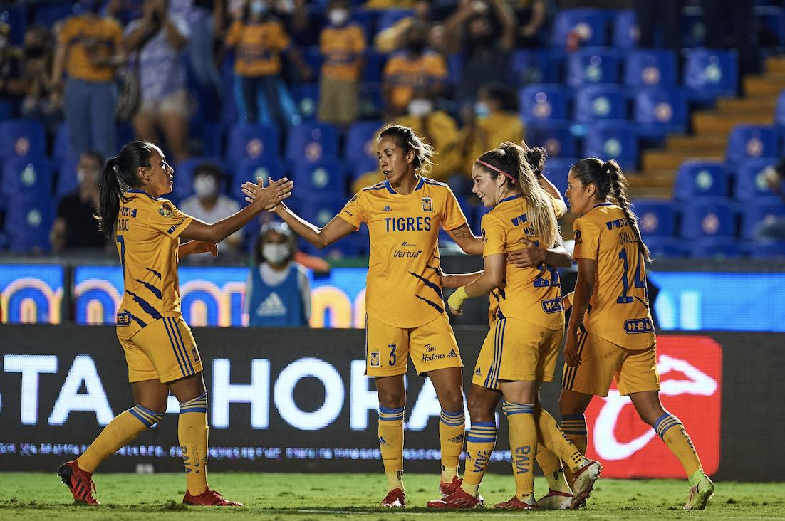 Para paso perfecto, el de Tigres Femenil: ¡3-0!